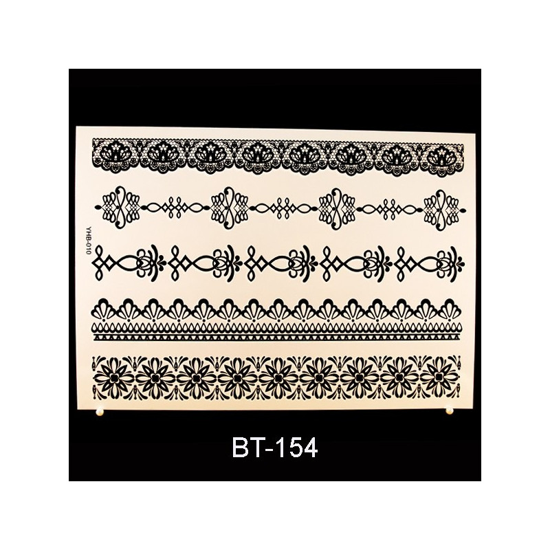 Black Tattoo BT154