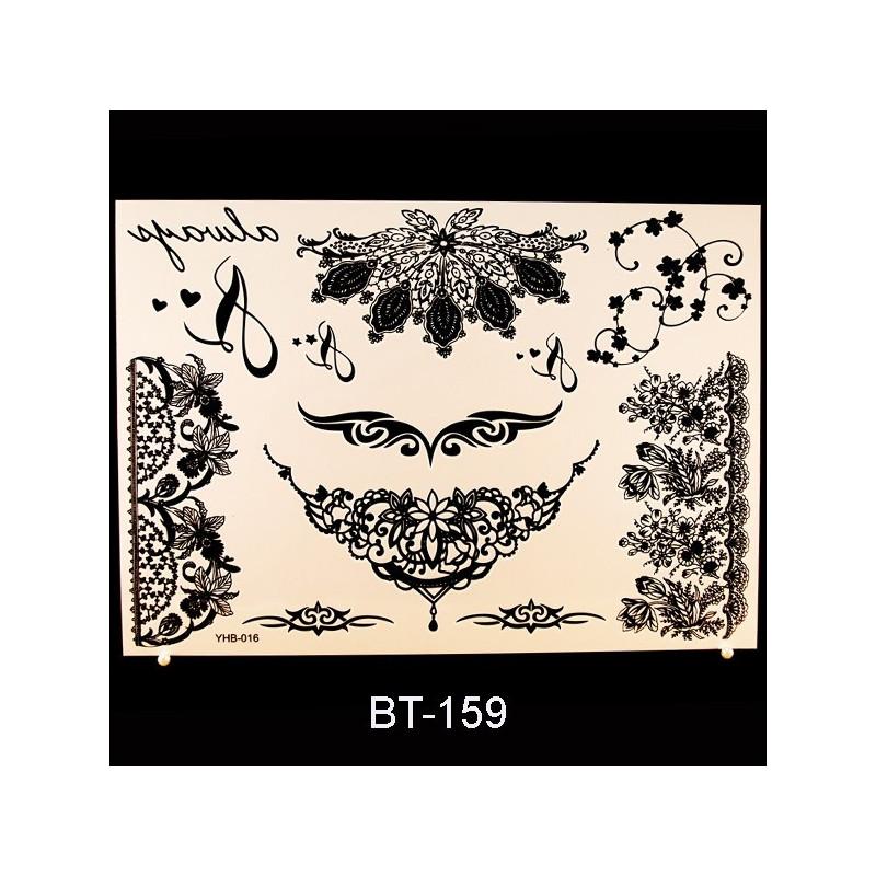 Black Tattoo BT159