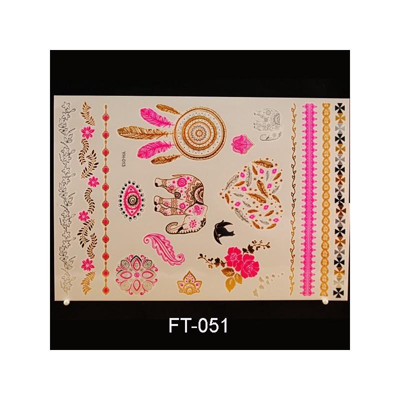 Flash Tattoo 210x148 FT051