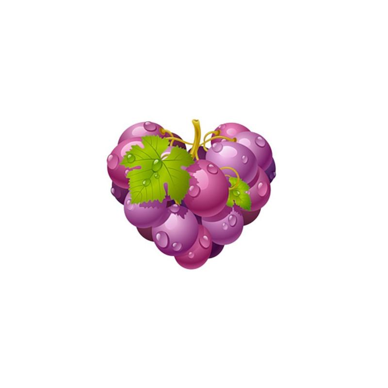 СНЯТ С ПРОДАЖИ Картинка Виноградное сердце 2,9х2,7см