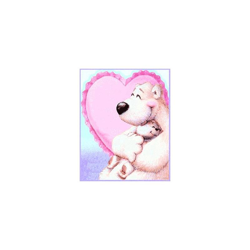 Картинка Полярная любовь 3,8х3,0см