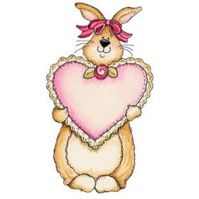 Картинка Закоханий кролик 2,0х3,5 см