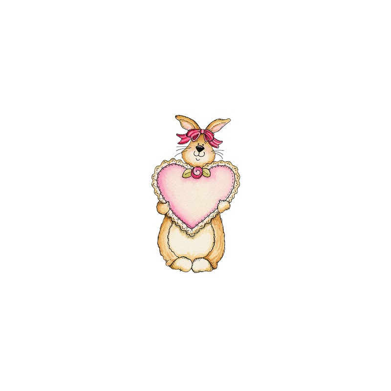Картинка Влюбленный кролик 2,0х3,5см