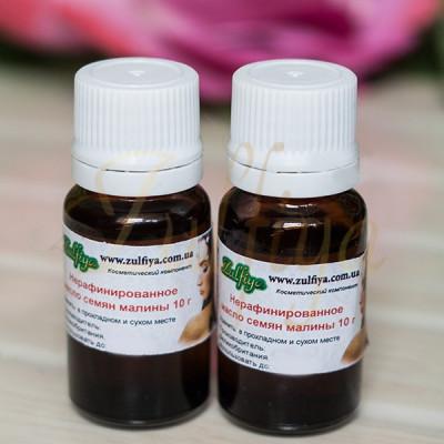 Нерафинированное масло семян малины