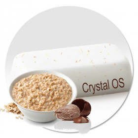 Мыльная основа Овсяное молочко и ши «Crystal OS»