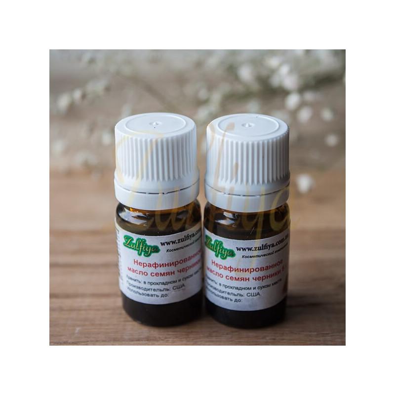 Нерафинированное масло семян черники