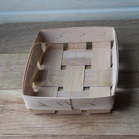 Корзинка шпоновая 11х9х2 см