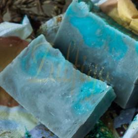 Мыло натуральное Голубая глина