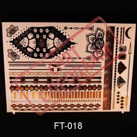 СНЯТ С ПРОДАЖИ Flash Tattoo 210x148 FT018