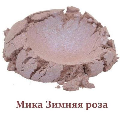 Мика пигментированная Зимняя роза