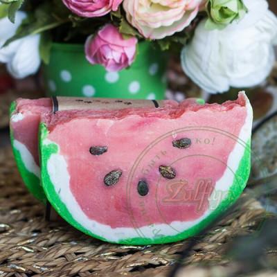 Натуральное мыло Сочный арбуз