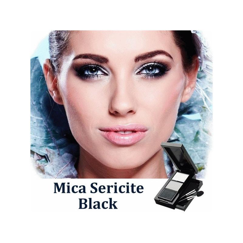 Мика пигментированная Черная мягкая