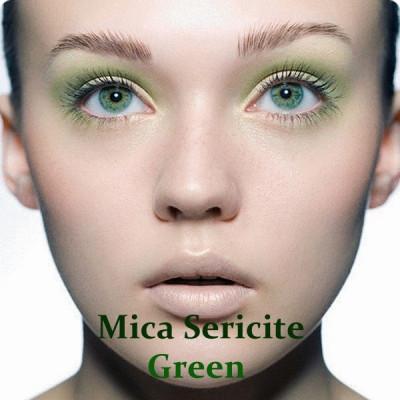 Мика пигментированная Зеленый Кипр