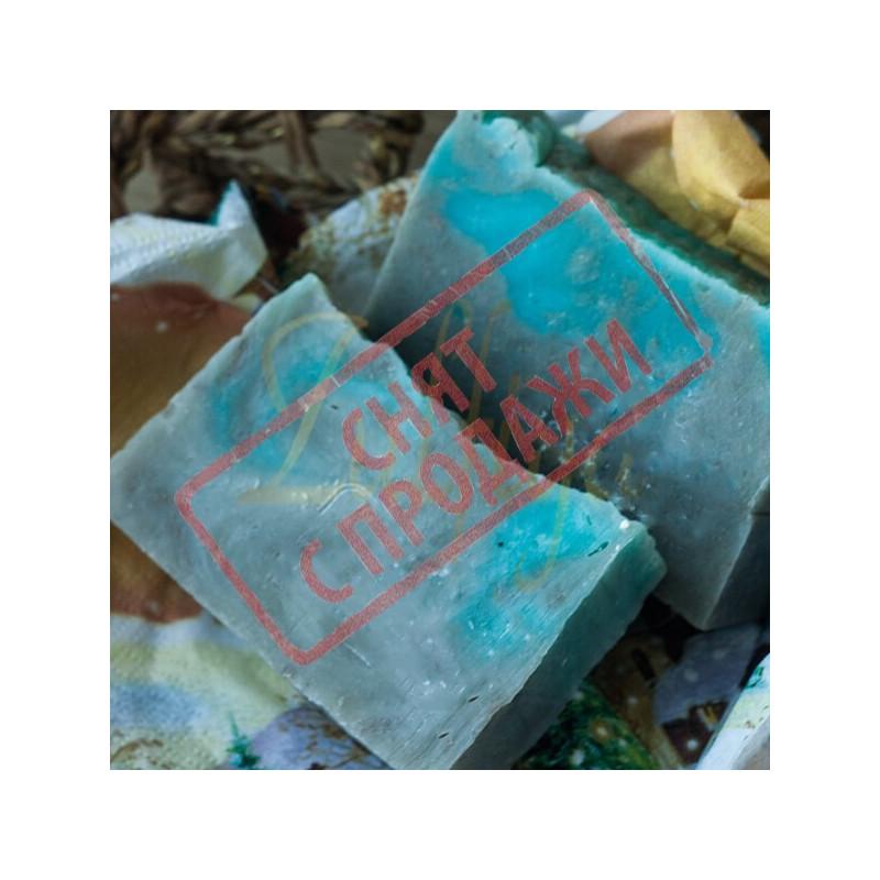 Натуральное мыло Голубая глина