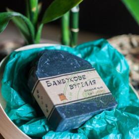 Натуральне мило бамбукове вугілля