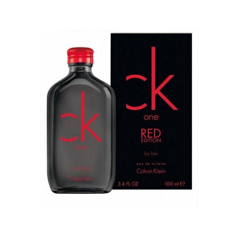 Ck One Red Edition For Him, Calvin Klein парфюмерная композиция