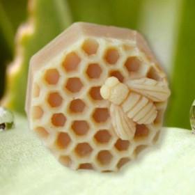 Пчелка на сотах