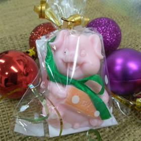 Мыло Свинка с бантиком