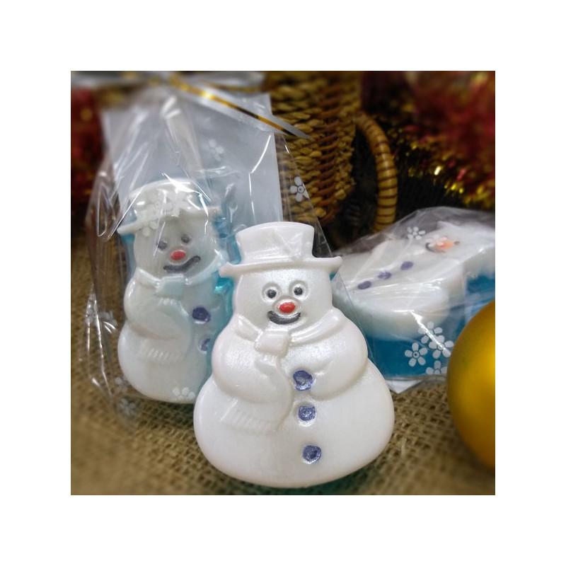 Мыло снеговичок