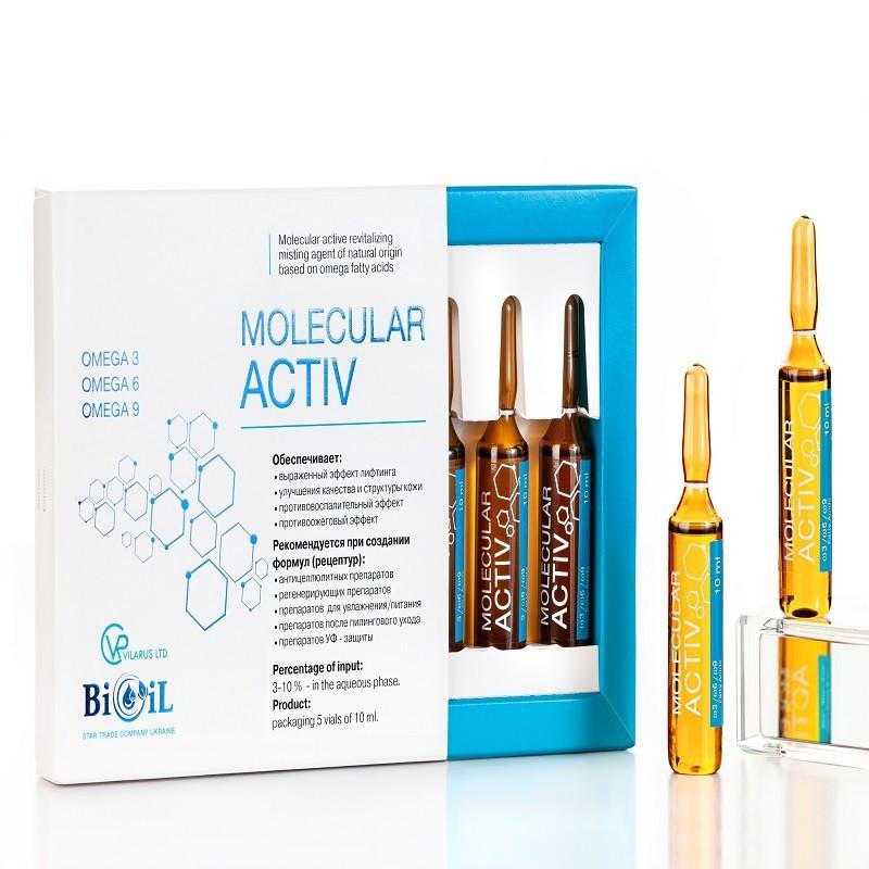 Bioil Molecular Activ (отдушка свежесть), ампула 10 мл.