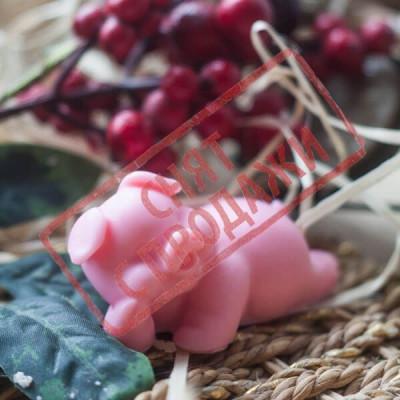 СНЯТ С ПРОДАЖИ Мыло Свинка малыш