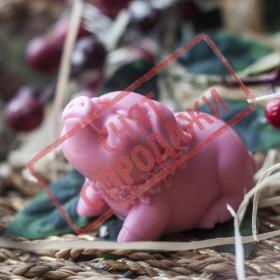 СНЯТ С ПРОДАЖИ Мыло Свинка кокетка