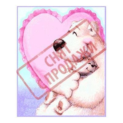 ЗНЯТО З ПРОДАЖУ Картинка Полярна любов 3,8х3,0 см