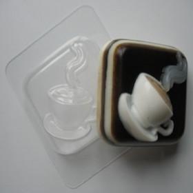 Форма для мыла Горячая чашка