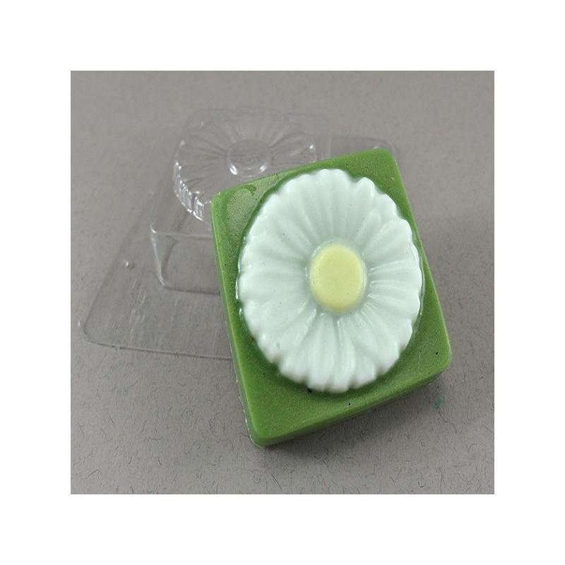Форма для мыла Ромашка квадрат