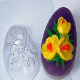 Форма для мыла Яйцо Крокусы