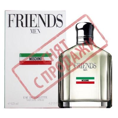 СНЯТ С ПРОДАЖИ Friends Men, Moschino парфюмерная композиция