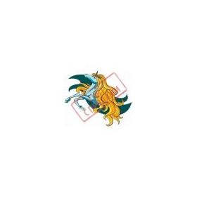 ЗНЯТО З ПРОДАЖУ Картинка Королева єдинорогів 6,0х5,0 см