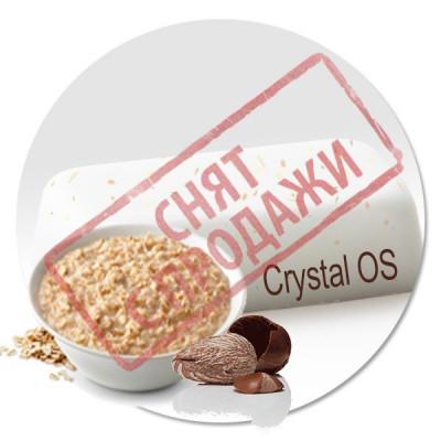ЗНЯТО З ПРОДАЖУ Мильна основа Вівсяне молочко та ши Crystal OS