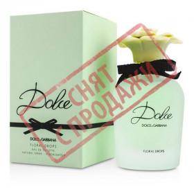 СНЯТ С ПРОДАЖИ Dolce Floral Drops, Dolce Gabbana парфюмерная композиция