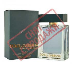 СНЯТ С ПРОДАЖИ The One Gentleman, Dolce and Gabbana парфюмерная композиция