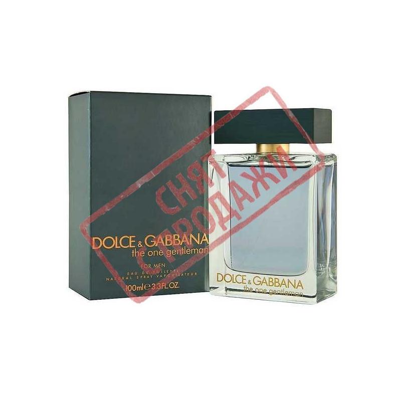 The Оne Gentleman, Dolce&Gabbanа парфумерна композиція