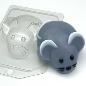 Форма для мыла Мышь/вид сверху