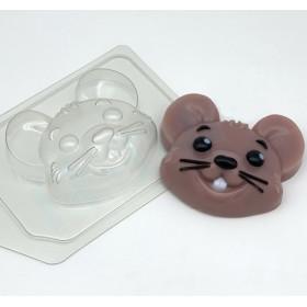 Форма для мыла Мышь/Мультяшная голова