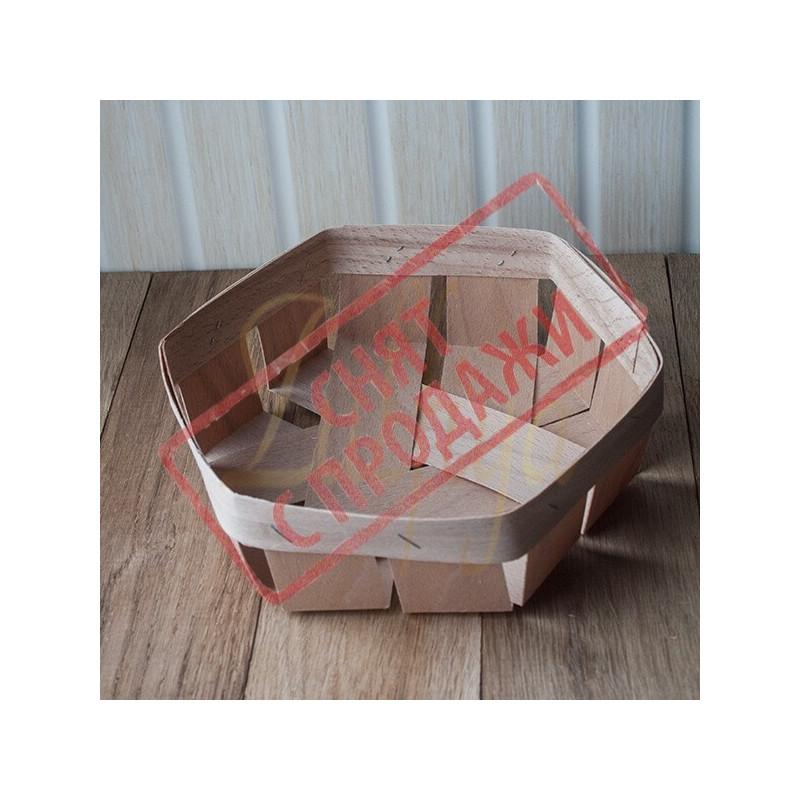Кошик 13х13х4 см