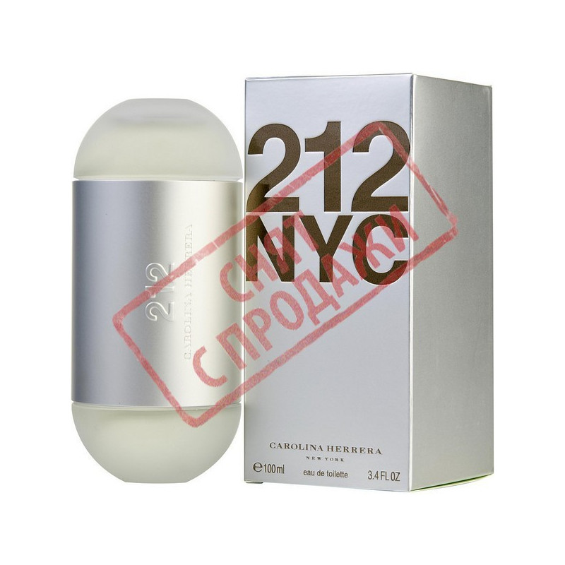 212, Carolina Herrera парфумерна композиція