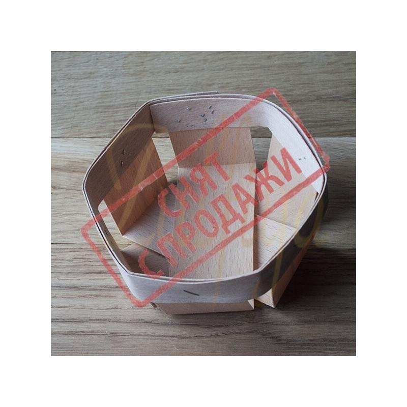 Корзинка 9х9х4 см