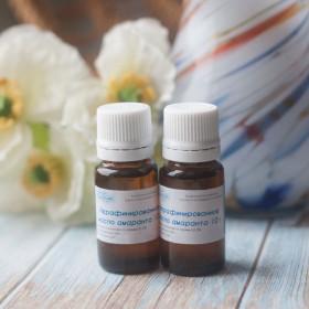 Нерафинированное масло семян амаранта