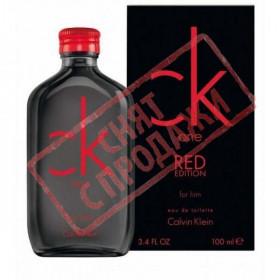 СНЯТ С ПРОДАЖИ Ck One Red Edition For Him, Calvin Klein парфюмерная композиция