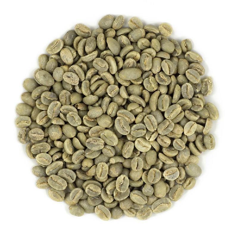 Нерафинированное масло зеленых зерен кофе