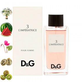 3 L'Impératrice, Dolce Gabbana парфюмерная композиция