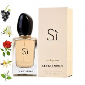 Si, Armani парфюмерная композиция