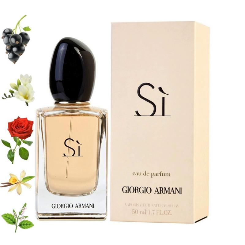 Si  Armani парфюмерная композиция