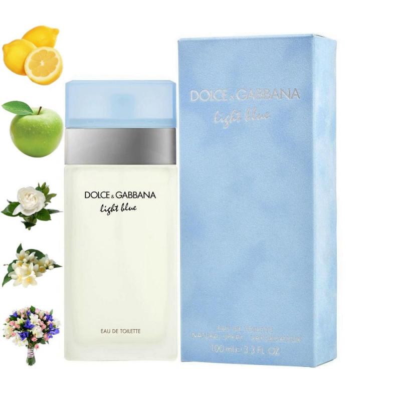 Light blue, Dolce Gabbana парфюмерная композиция