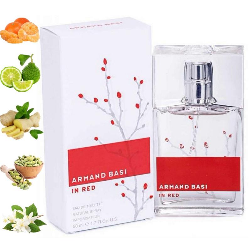 In Red, Armand Basi парфюмерная композиция