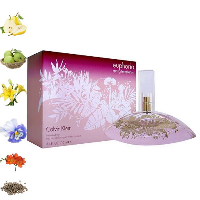 Euphoria Spring Temptation, Calvin Klein парфюмерная композиция